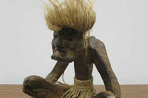 This donated fertility god leaves nothing to the imagination!